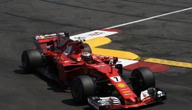 Raikkonen Ferrari SF70H Monaco GP F1 2017 Swimming Pool Photo Ferrari