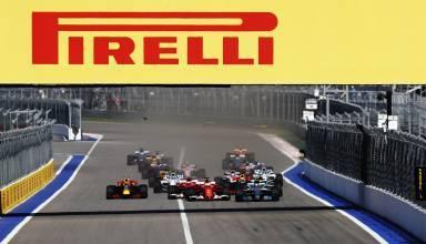 Russian GP F1 2017 start Foto Pirelli