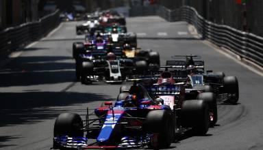 Sainz leads midfield Monaco GP F1 2017 Photo Red Bull
