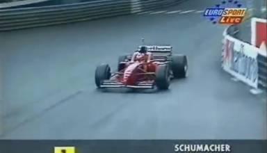 Schumacher Ferrari Monaco F1 1996 Screenshot