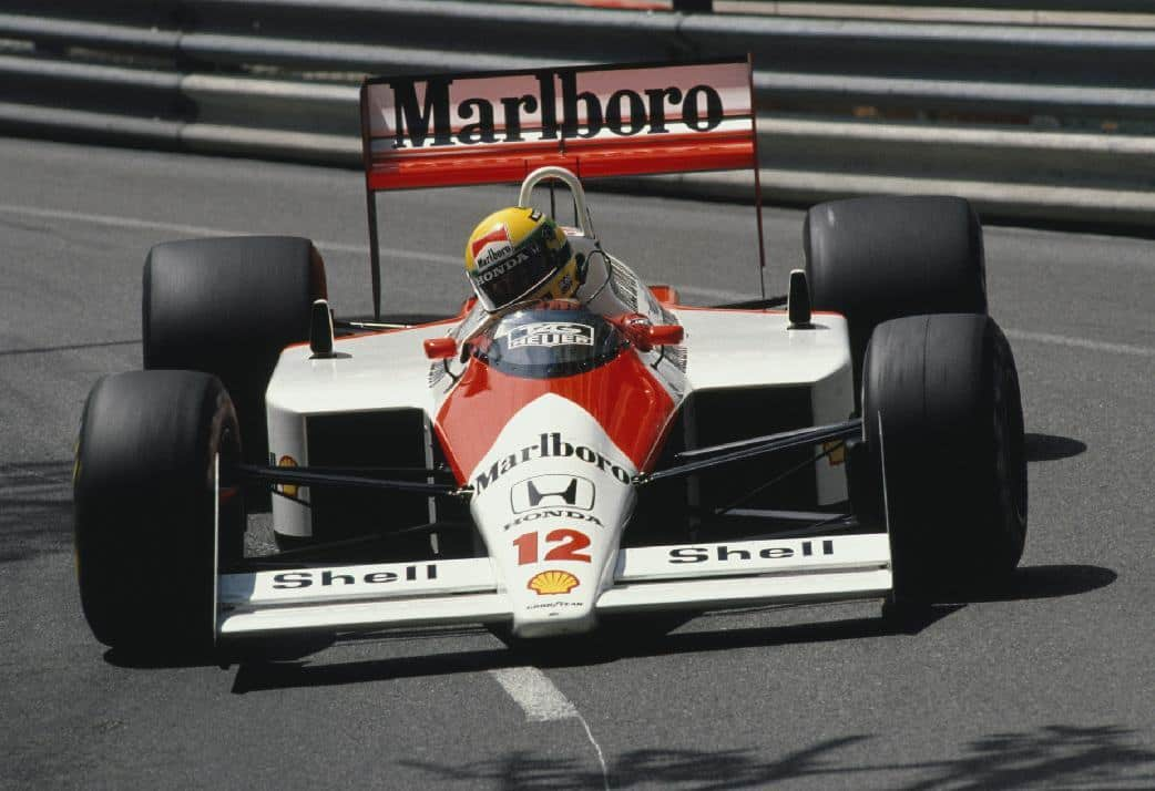 Senna Monaco McLaren Honda F1 1988 Foto LAT