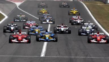 Spanish GP F1 2003 start Foto Ferrari