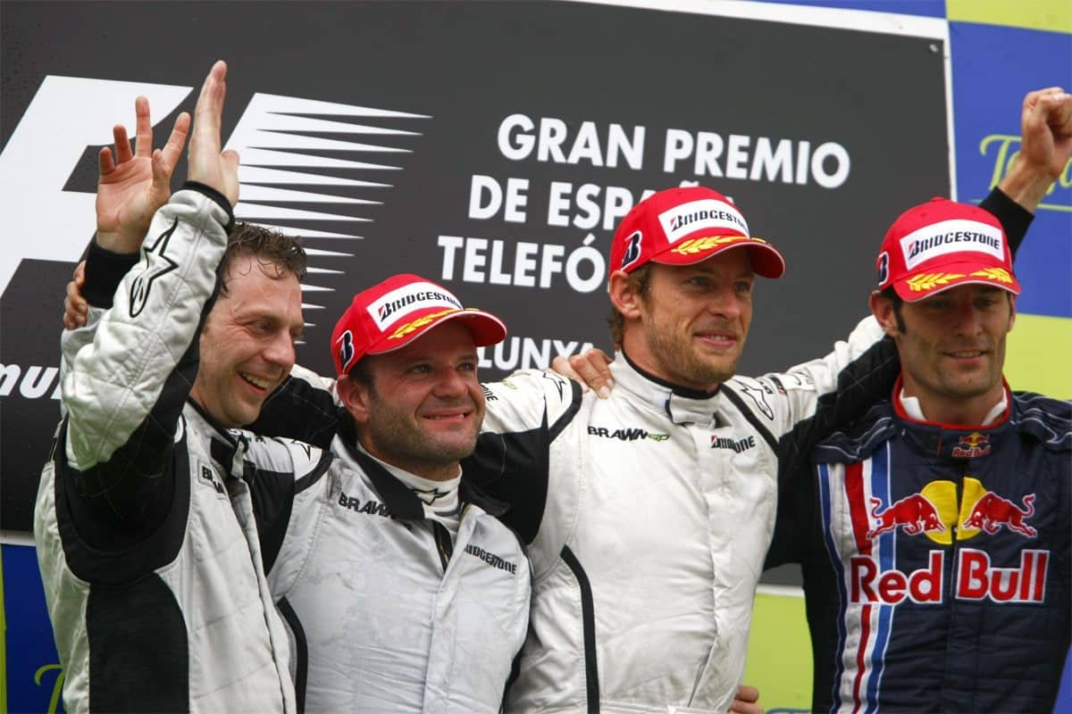 Spanish GP F1 2009 podium Foto LAT
