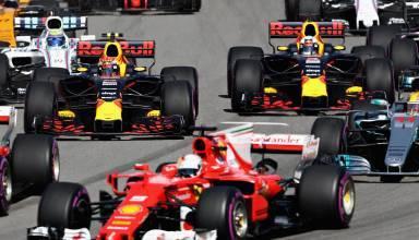 Start Russian GP F1 2017 FOto Red Bull