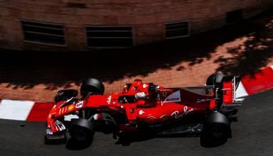 Vettel Ferrari SF70H Monaco GP F1 2017 before tunnel Photo Ferrari
