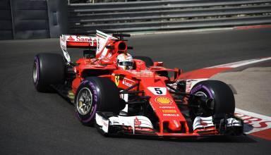 Vettel-Ferrari-SF70H-Monaco-GP-F1-2017-hairpin-Photo-Ferrari