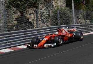 Vettel-Ferrari-SF70H-Monaco-GP-F1-2017-tunnel-exit-Photo-Ferrari