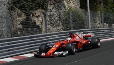 Vettel-Ferrari-SF70H-Monaco-GP-F1-2017-tunnel-exit-Photo-Ferrari