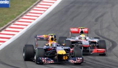 Webber leads Hamilton Turkish GP F1 2010 Photo Red Bull