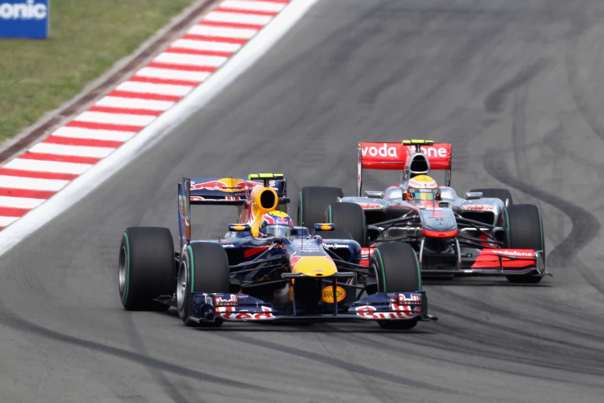 Webber leads Hamilton Turkish GP F1 2010 Photo Red Bull