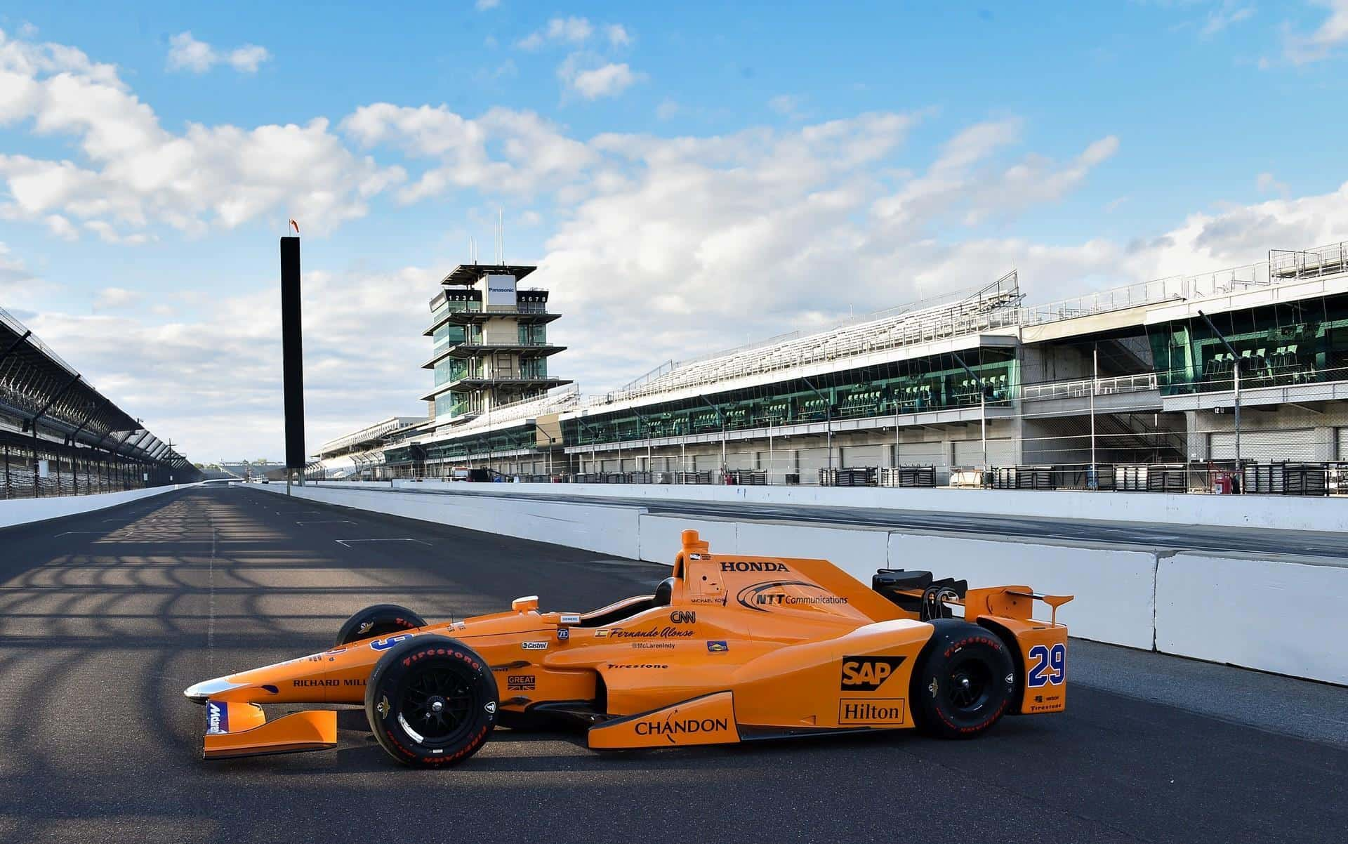 Andretti unveals photos of Alonso car for Indy 500