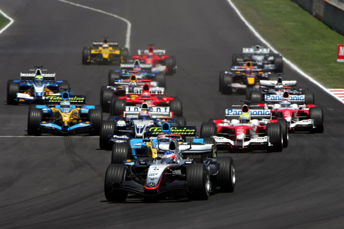 spanish gp 2005 start