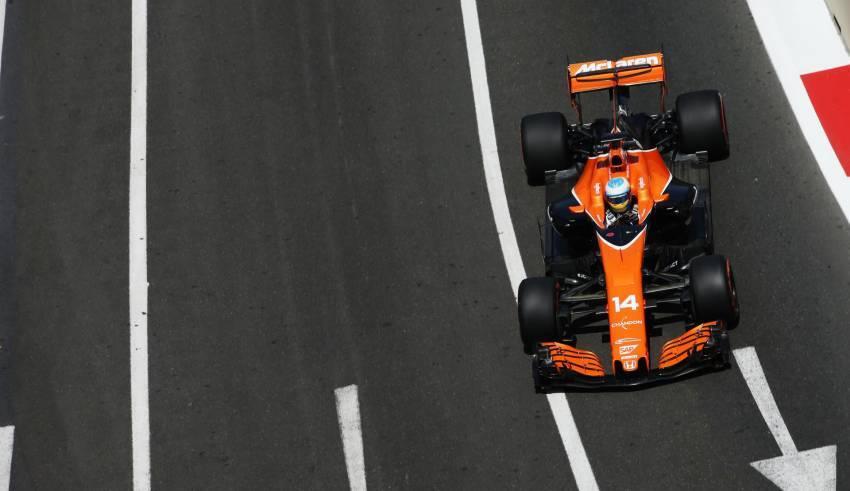 Alonso McLaren Honda Baku F1 2017 Photo McLaren