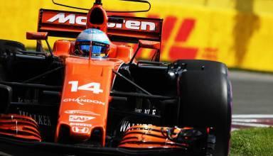 Alonso McLaren Honda Canadian GP F1 2017 Foto McLaren