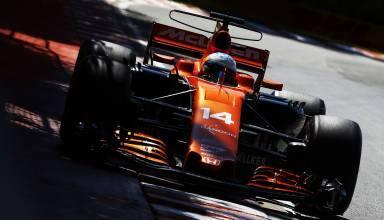 Alonso Mclaren Honda Canadian GP F1 2017 second chicane Photo McLaren