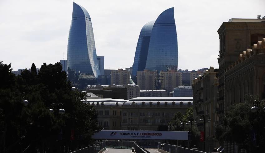 Baku Street Circuit F1 2017 Photo Pirelli