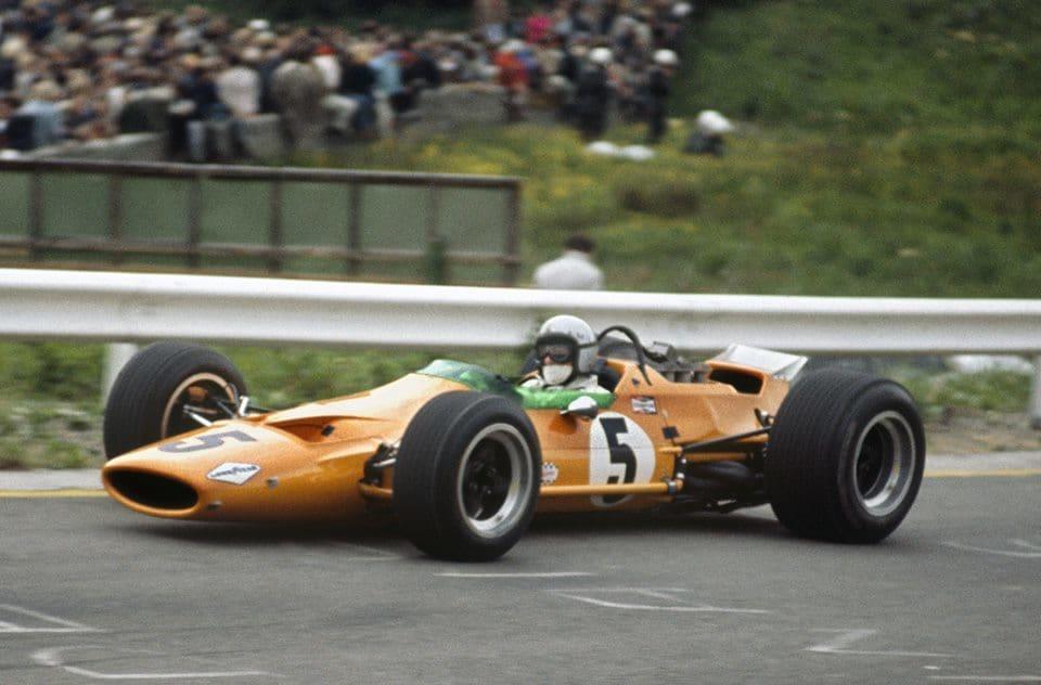 Bruce McLaren Belgium F1 1968 Foto Imgur