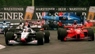 Canadian GP F1 1998 start