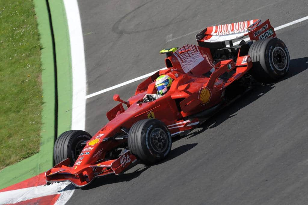 Felipe Massa Ferrari F2008 French GP F1 2008 Magny Cours Photo Ferrari