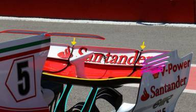 Ferrari SF70H Canadian GP F1 2017 rear end new rear wing spoon Foto AMuS MAXF1net