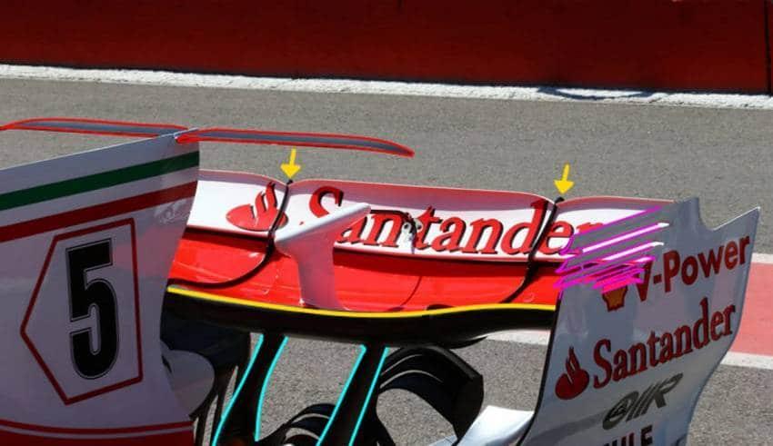 Ferrari SF70H Canadian GP F1 2017 rear end new rear wing spoon Foto AMuS MAXF1net