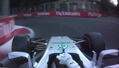 Hamilton Mercedes W08 onboard pole position lap F1 2017 screenshot Youtube