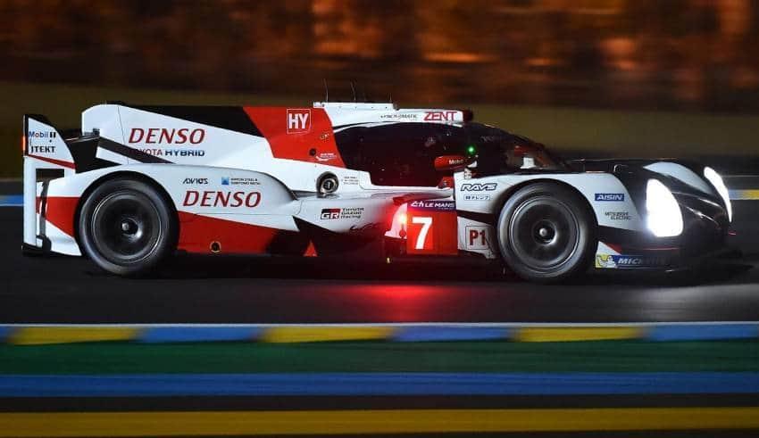 Kobayashi Le Mans 24h 2017 Toyota