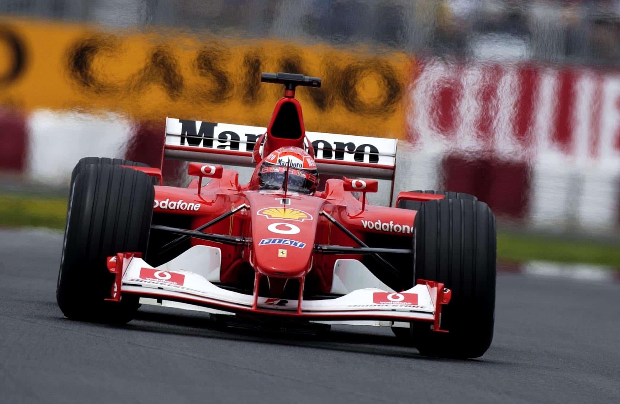 Michael Schumacher Ferrari F2002 Canadian GP F1 2002 Foto Ferrari