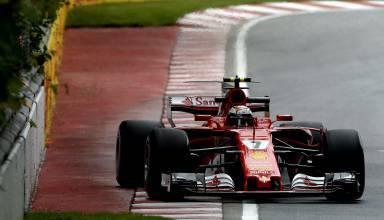 Raikkonen-Ferrari-Canadian-GP-F1-2017-on-exit-kerb-Foto-Ferrari.