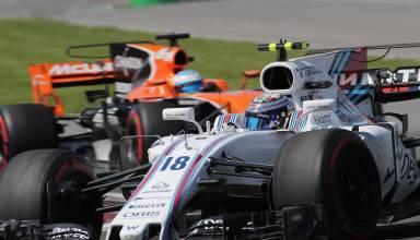 Stroll Lance Williams F1 Canada 2017
