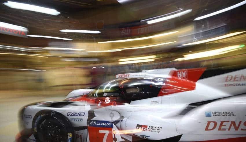 Toyota WEC TS050 Hybrid 24h Le Mans 2017 Foto LAT