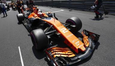 Vandoorne Monaco GP F1 2017 starting grid Foto McLaren