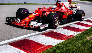 Vettel Ferrari Canadian GP F1 2017 close Foto Ferrari