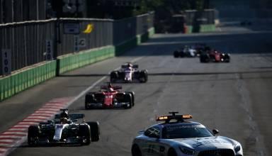 baku f1 2017 hamilton leads vettel behind sc