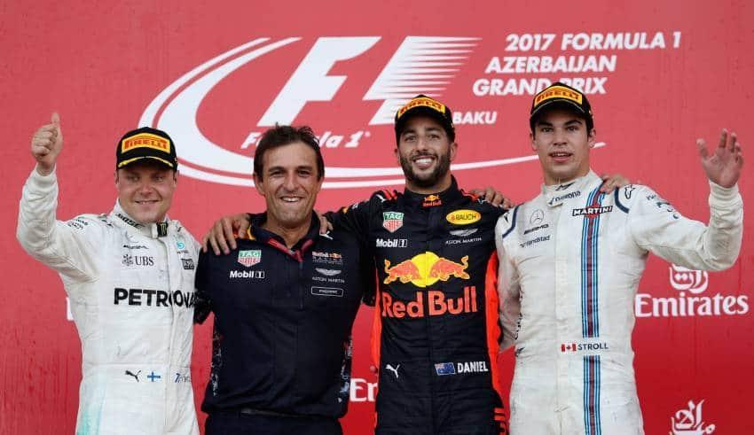 baku f1 2017 podium foto red bull