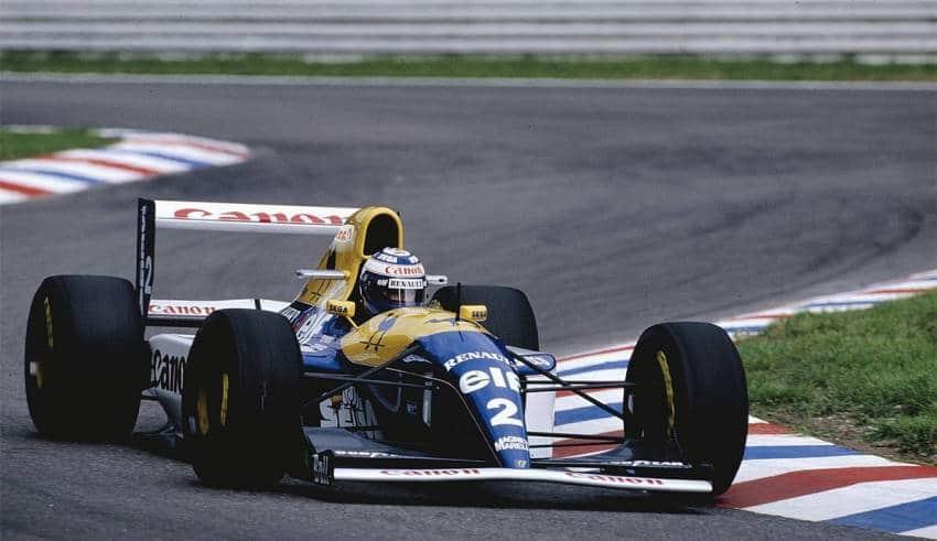 Alain Prost Williams Renault FW15C German GP F1 1993 Hockenheim Photo Williams
