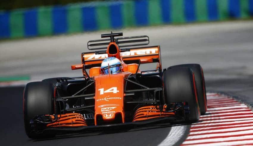 Alonso McLaren Honda Hungarian GP F1 2017 Photo McLaren