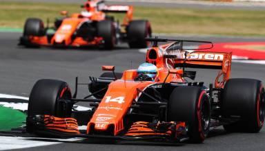 Alonso Vandoorne McLaren British GP F1 2017 Photo McLaren