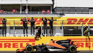 Alonso finishes sixth McLaren Honda Hungarian GP F1 2017 Photo McLaren