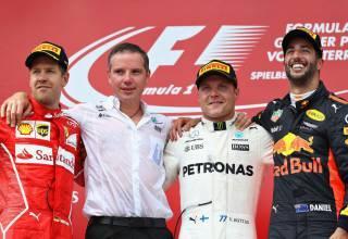 Austrian GP F1 2017 podium Photo Red Bull