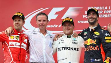 Austrian GP F1 2017 podium Photo Red Bull