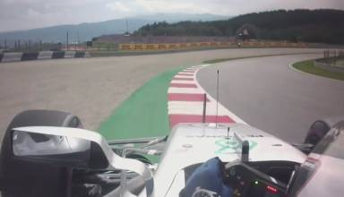 Bottas Mercedes W08 Austria F1 2017 Red Bull Ring onboard pole position lap