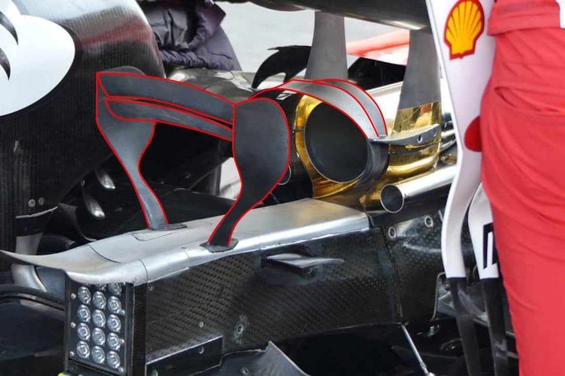 Ferrari new monkey seat Hungary F1 2017 Photo Ferrari MAXF1net