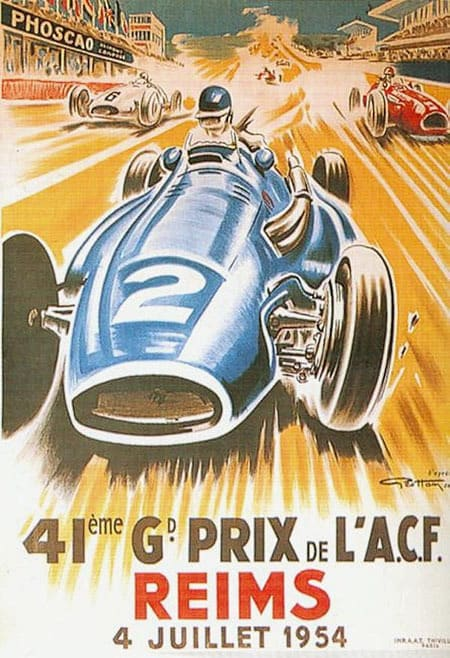 French GP F1 1954 Reims Photo Patrice Vatan