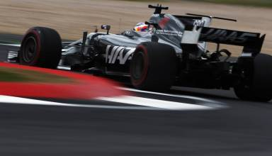 Grosjean Haas British GP F1 2017 Photo Haas