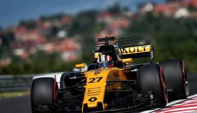 Hulkenberg Renault Hungarian GP F1 2017 front Photo Renault