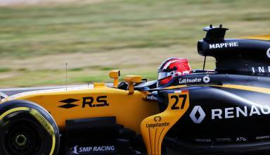 Hulkenberg Renault RS17 British GP F1 2017 SIlverstone Photo Renault