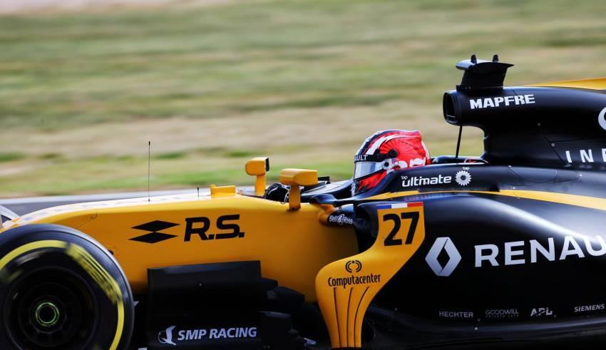 Hulkenberg Renault RS17 British GP F1 2017 SIlverstone Photo Renault