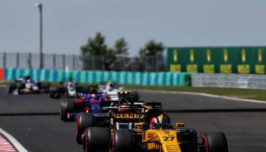 Hulkenberg leads the midfield Hungarian GP F1 2017 Photo Renault
