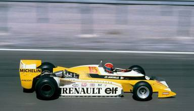Jean-Pierre Jabouille French GP F1 1979 Dijon Photo Renault
